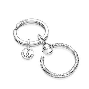 Bilde av Pandora Moments Charm Key Ring